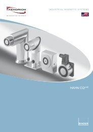 IMS Broschüre CQ Line - Englisch - Kendrion