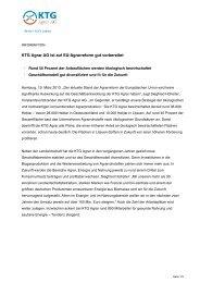 Information: KTG Agrar AG ist auf EU-Agrarreform gut vorbereitet