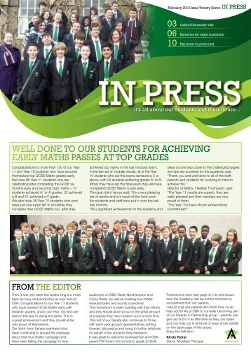 Issue 27 - Corby Business Academy