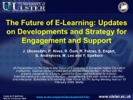 The Future of E-Learning: Updates on Developments and ... - Events