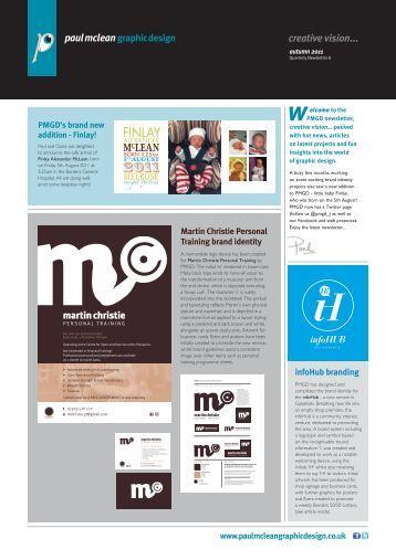 creative vision... issue 8 - Paul McLean Graphic Design