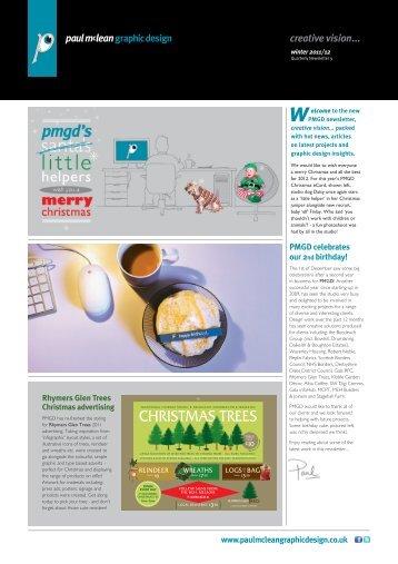 creative vision... issue 9 - Paul McLean Graphic Design