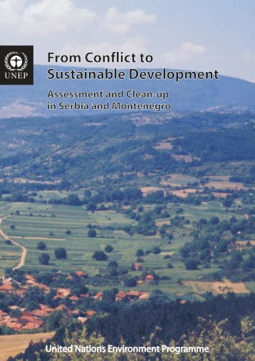 From Conflict to Sustainable Development From Conflict to ...