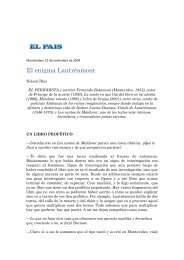 El enigma Lautréamont - Fernando Butazzoni