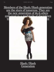 Slash Generation - Tendencias de Moda