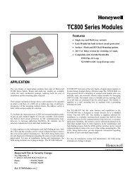 TC800 Series Modules