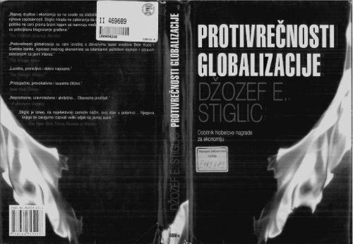 Stiglic Džozef E ProtvreÄ nosti globalizacije SBM-x 2004 pdf
