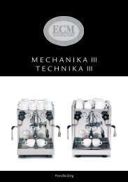 Handleiding Technika / Mechanika - Kaldi koffie en thee webshop
