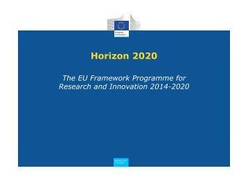 Horizon 2020 - FCT