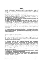 Protokoll vom 19.02.2013 - Hittisau