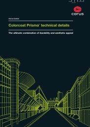Colorcoat Prisma Technical Brochure - Colorcoat-online