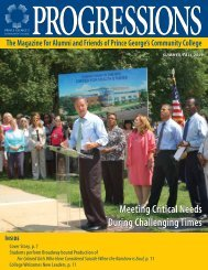Fall 2009 - Prince George's Community College