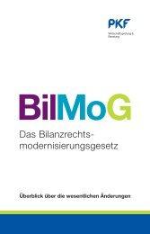 Broschüre BilMoG - PKF Fasselt Schlage