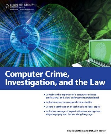 Computer Crime, Investigation, and the Law - Enigma Group