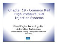 Chapter 19 - Common Rail High Pressure Fuel Injection Systems