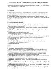 Jäätmehoolduseeskiri - Konguta Vald