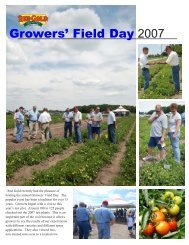 Grower's Field Day 2007.qxp - Red Gold