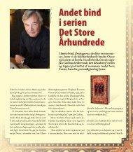 Læs interview med Jan Guillou om DANDY. - Modtryk