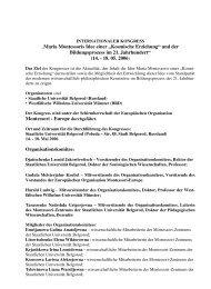 (14. - 18. 05. 2006) Mon - Montessori Europe