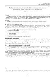 1.1 Odlučovače ropných látek - Fakulta stavební - Vysoké učení ...