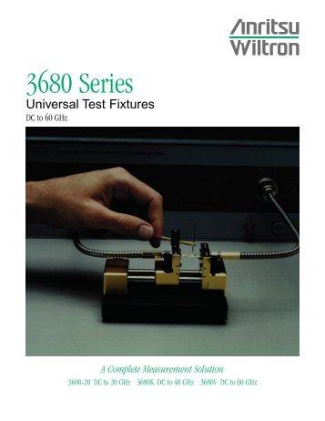 Anritsu Universal Test Fixture - RfMW