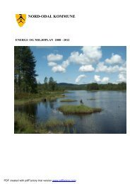 Korrektur Energi og miljøplan for Nord Odal Kommune 10 12 07 eho ...