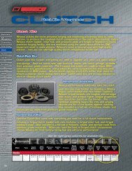 Clutch Kits & Components - Wiseco