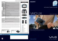 VAIO UX - Sony