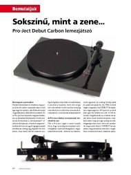 Bemutatjuk - Audio Centrum