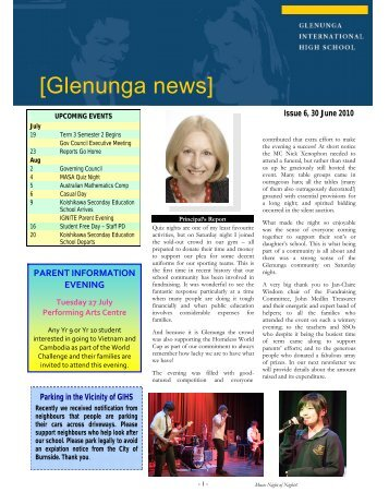 Newsletter Issue 6