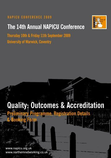 The 14th Annual NAPICU Conference - Northern Networking Events