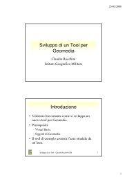 Sviluppo di un Tool con Visual Basic