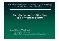 Investigation on the Structure of a Networked System - IPSC
