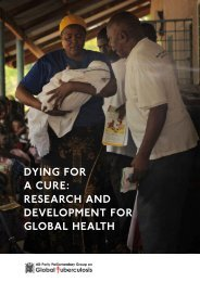 Dying for a Cure - Research and Development for Global Health