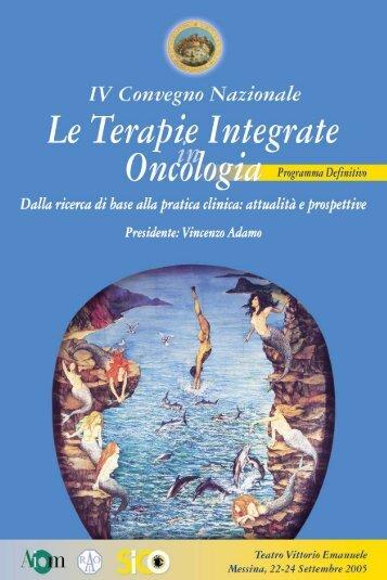 Le Terapie Integrate in Oncologia - Medicina e Chirurgia - Università ...