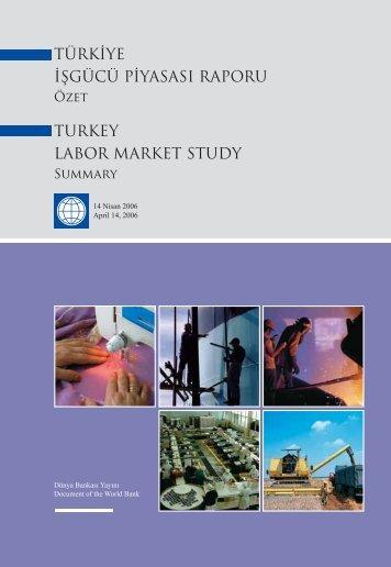 türkiye işgücü piyasası raporu turkey labor market ... - Mature @ EU