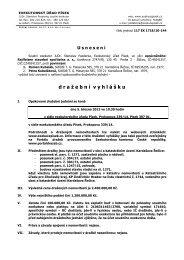 d r a ž e b n í v y h l á š k u - Exekutorský úřad Písek / JUDr. Stanislav ...