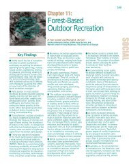 Forest-Based Outdoor Recreation - Southern Research Station - US ...