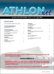 Athlon Net luglio 2009 - Fijlkam