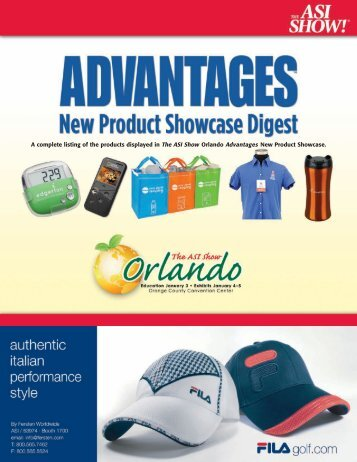 New Product Showcase Digest - DL Beck Promotions
