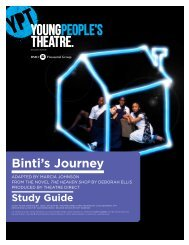 Binti's Journey Study Guide - Young People's Theatre