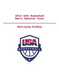 Section 3 - USA Basketball