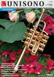 Windmaker 2006 - Schweizer Blasmusikverband