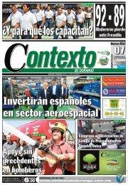 07/08/2013 - Contexto de Durango