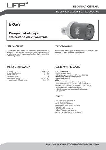 Karta katalogowa ERGA - LFP
