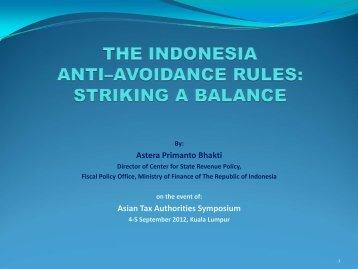 Astera Primanto Bhakti Asian Tax Authorities Symposium