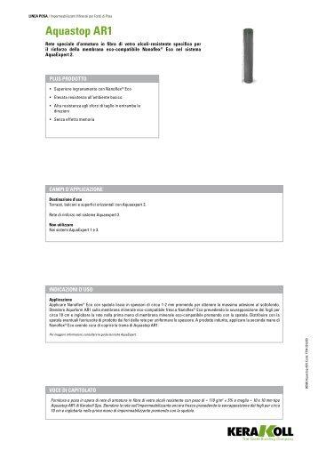 Nanoflex® eco - Kerakoll - Kerakoll SPA