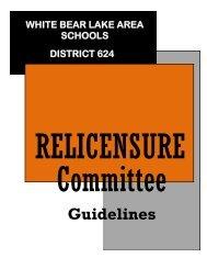 Guidelines - White Bear Lake Area Schools