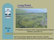 Long Point World Biosphere reserve