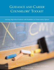 guidance and career counselors' toolkit - College Career Life Planning